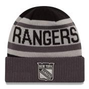 """New York Rangers New Era NHL """"Biggest Fan Black 5.1cm Cuffed Knit Hat"""