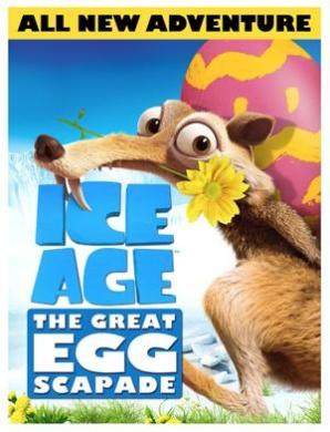 Ice Age The Great Eggscapade DVD 1Disc