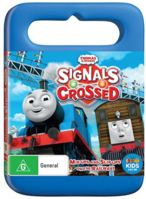 Thomas & Friends Signals Crossed DVD 1Disc