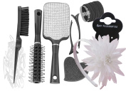 Professional Dazzle Hair Collections Gift Set (White) by BeauTique