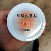 VONEL HAIR STYLING WAX - SHINE POMADE - STRONG HOLD - SCENTED - PRO BARBERS FINISHING PRODUCT - NEW 2017 - EASILY WASHES OUT FROM HAIR - 150ml - SIMILAR TO UPPERCUT, AMERICAN CREW & LAYRITE