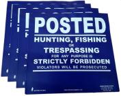 Heavy Gauge 13mil VINYL Posted Signs 10 pack