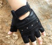 Comfspo New Leather Sports Fitness Half Finger Gloves For Both Men and Women