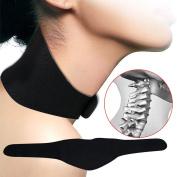 Pevor Tourmaline Far Infrared Ray Heat Neck Massager Brace Support Strap Relief Pain