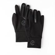 EGlove XTREME Black/Black (Extra Large) Touchscreen Fleece Gloves for Smartphone / Touchscreen Operation