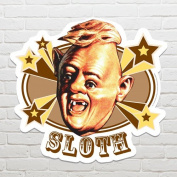 "STAR CUTOUTS ""The Goonies Sloth Hey You Guys"" Wall Art, Multi-Colour"