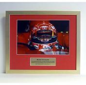 Michael Schumacher special edition photo presentation