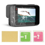 AxPower GoPro HERO 5 Screen Protector Tempered Glass Protective Film Camera Accessories Foils