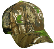 Realtree Adjustable Plastic Snap Closure Blank Mesh Back Cap