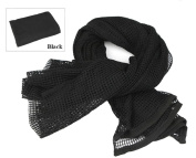Tactical Mesh Net Camo Scarf For Wargame,Sports & Other Outdoor Activities
