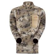 Sitka Optifade Waterfowl Core Midweight Zip-T Long Sleeve Shirt