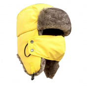 Pawaca Windproof Mask Unisex Winter Trapper Trooper Ear Flap Hat with Face Mask to Keep You Warm for Hunting, Walking, and More Outdoor Activities