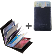 Wonder Wallet - Amazing Slim RFID RFID Wallet AS Seen On TV + Free Gift Real Leather Card Holder
