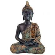 Buddha in Meditation - Antique Finish
