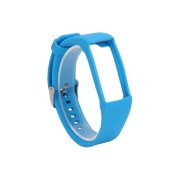 AutumnFall Genuine Silicone Rubber Watch Band Wrist Strap for Polar A360 Smart Watch