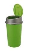 PLASTIC KITCHEN BIN 45L 45 L litre TOUCH TOP BIN / DUSTBIN / RUBBISH BIN / KITCHEN / HOME RECYCLE SWING