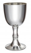 Wentworth Pewter Large Red Wine Pewter Goblet