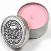 Wild Rose Handpoured Highly Scented Candle Tin