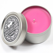 Strawberry & Rhubarb Handpoured Highly Scented Candle Tin