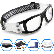Ponosoon Sports Goggles for Basketball Football Volleyball Hockey Paintball Lacrosse1809