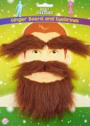 Ginger Beard, Moustache and Eyebrow Set