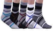 5 Pair Comfortable Breathable Deodorant Men's Cotton Toe Socks Sport Five Finger Socks
