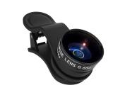 Kenko KE RP065WM Real Pro Clip Wide 0,65x & Macro Conversion Lens for Smartphone/Tablet/Notebook Black