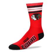 NHL 4 Stripe Deuce Crew Socks