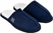 New York Yankees MLB 2012 High End Open Back Slide Slippers - Faux Fur Lined