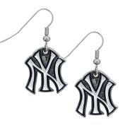 MLB Chrome Dangle Earrings
