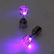 IC ICLOVER Led earring,Cool Shiny Glowing Led Lighting Earring For Christmas Thankgiving Gift
