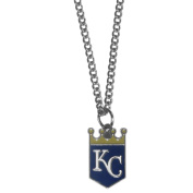 MLB Chain Necklace with Small Pendant, 50cm Snake Chain