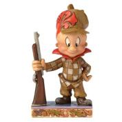 Looney Tunes Jim Shore 4054867 Happy Hunter Elmer Fudd