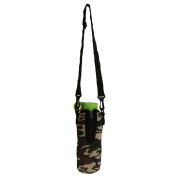 750ML Sports Water Bottle Cover Neoprene Insulator Sleeve Bag Case Pouch Holder + Shoulder Strap