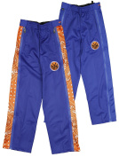 New York Knicks NBA Big Boys Paisley Tear-Away Pants, Blue