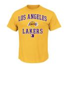 NBA Men's Majestic Athletics Heart and Soul Short Sleeve Crew Neck T-Shirt