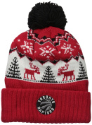 NBA Reindeer Cuffed Pom Knit