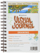 Pro-Art Paper Strathmore Visual Journal Drawing 14cm x 20cm , 42 Sheets