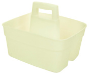 Whitefurze Kitchen Caddy with Insert, Plastic, Natural
