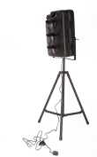 Metal Jerry Can Directors Style Tripod Floor Lamp