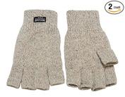Broner Raggwool Fingerless Gloves - Thinsulate - 1 Pair - #13-509