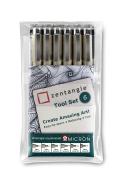 Zentangle Tool Set (Pack Of 6)