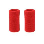 Lorsoul 15cm Cotton Sports Basketball Tennis Wrist Sweatband / Wristband Wrist Sweat band/Brace, Price/Pair