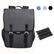 SHAOLONG Nylon Waterproof Business Backpack 40cm Laptop Backpack Computer Bag fits up to 40cm Laptop Computer Backpack
