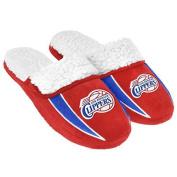 NBA Basketball Team Logo Mens Soft Sherpa Slippers