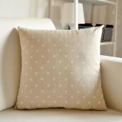 TRE Linen sofa cushions/ car pillow cushion/ cushion/waist cushion -A 55x55cm