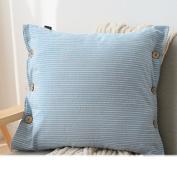 TRE pillow/back Cushion/Living room sofa bed backrest lumbar pillow/ car waist pillow cushions residence/ Office waist cushion-F 45x45cm