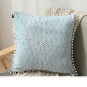 TRE pillow/back Cushion/Living room sofa bed backrest lumbar pillow/ car waist pillow cushions residence/ Office waist cushion-B 45x45cm