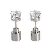 Rokou Outstanding Light Glowing LED Earrings Ear Drop Crystal Pendant