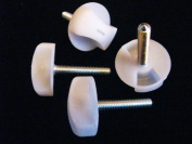 Pack of 4 Headboard Bed Screws/Bolts with Washer fixings